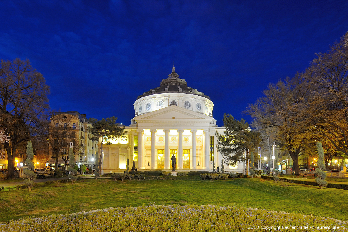 Ora albastra - Ateneul Roman